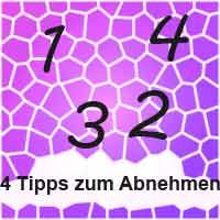Abnehmen 4 Tipps